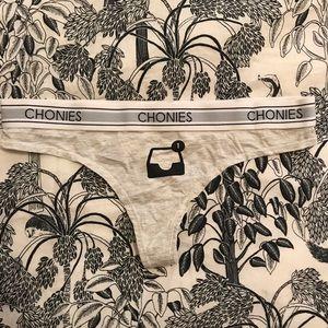Chonies Down In The DM Alert Thong